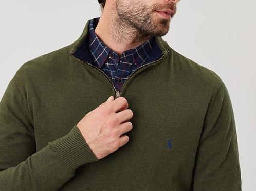 Hillside Funnel 1/4 Zip Neck Sweater^
