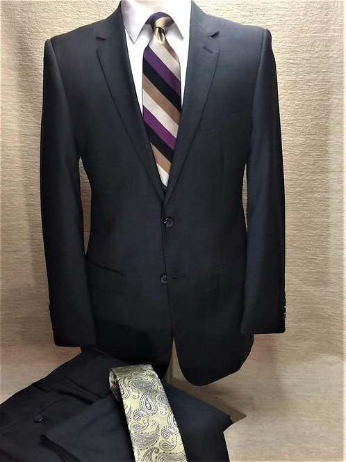 Executive Level 2 Suit Luxury Business Suit (Dark Olive)