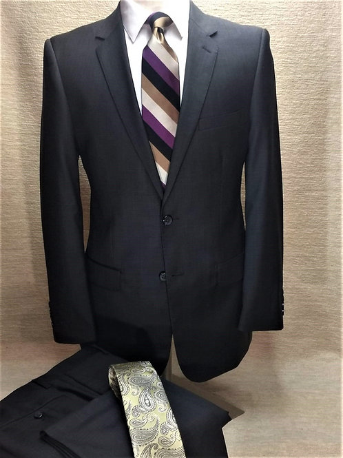 Executive Level 2 Suit Luxury Business Suit (Dark Olive)