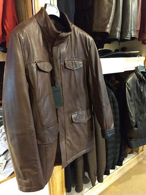 Torras Reversible Leather Jacket