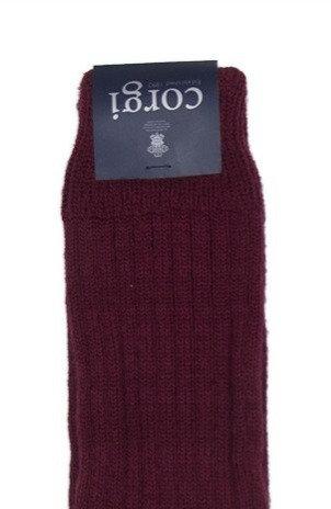 Corgi wool/cotton sock