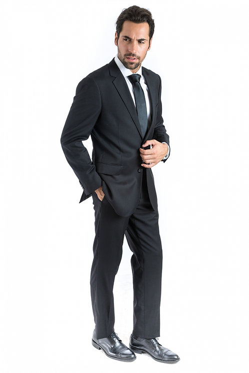 Bresciani Black Suit