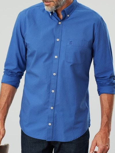 Laundered Oxford Long Sleeve Shirt*