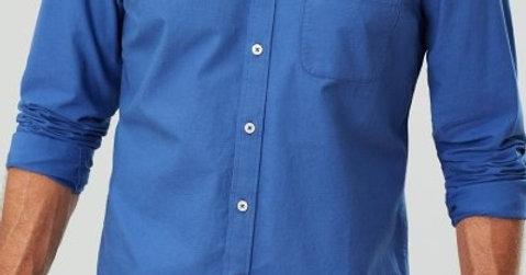 Laundered Oxford Long Sleeve Shirt*
