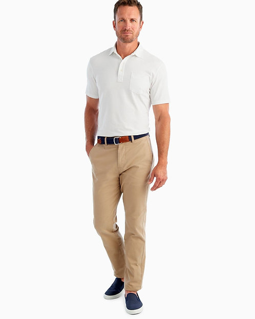 Perry Stretch Twill Pant in  Khaki