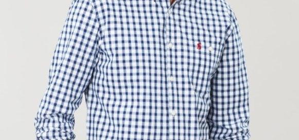 Hewney Classic Peached Poplin Shirt*