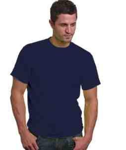 50/50 T-Shirt-Navy