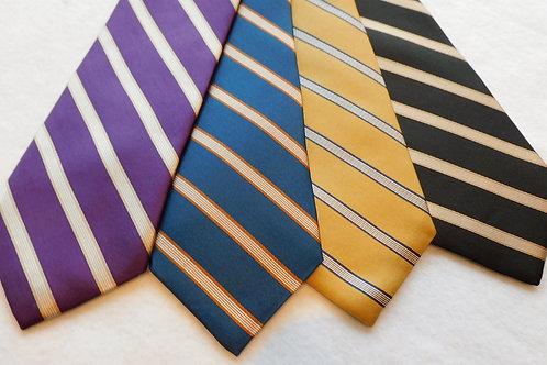 Ground Woven Silk Stripe