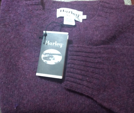 100% Wool Sweater From Harley of Scotland in Pagan