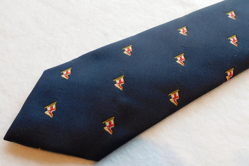 Navy Ground Woven Small Flags