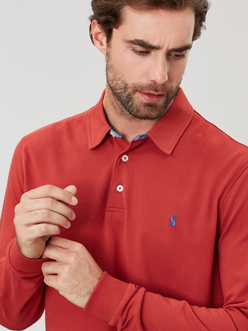 Woodwell Long Sleeve Polo^