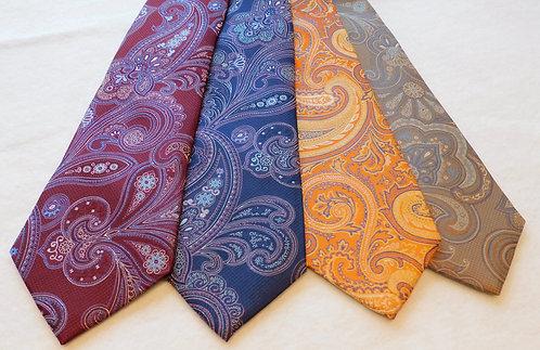 Woven Silk Paisley