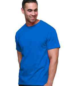 Jersey Tee-Royal Blue