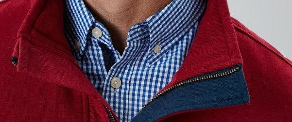 Deckside Half Zip Sweatshirt*