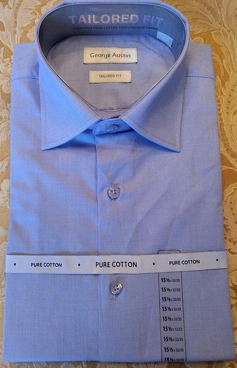 George Austin Dress Shirt-Blue