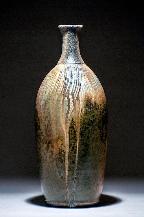 Iron Brindle and Crystalline Bottle