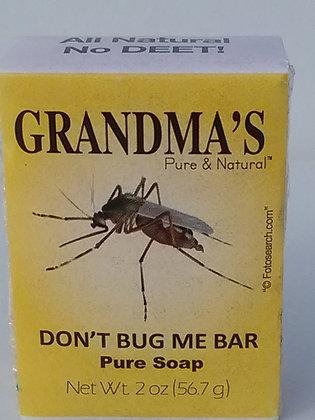 Grandma's Don't Bug Me Bar