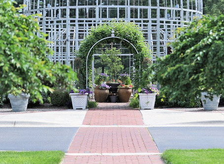 Intimate Garden Setting Proves Perfect for Postponed Nuptials