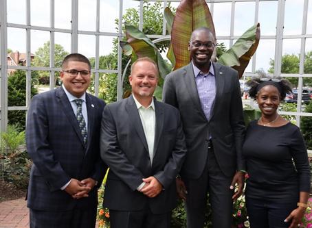 Lt. Governor Garlin Gilchrist Visits Taylor Conservatory