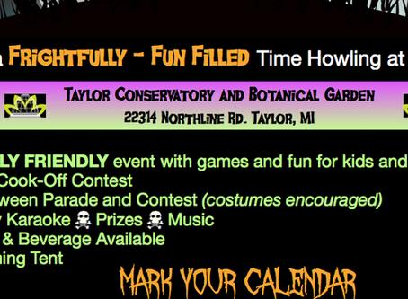 October 24 Halloween Fun Day
