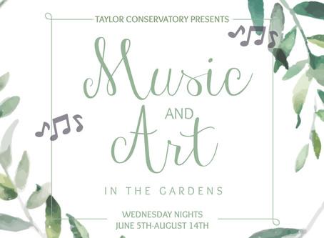 Music & Art In The Gardens Returns For Eighth Season