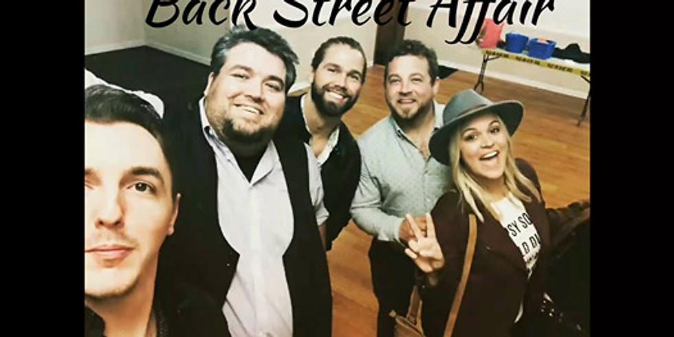 Music & Art in the Gardens - Backstreet Affair