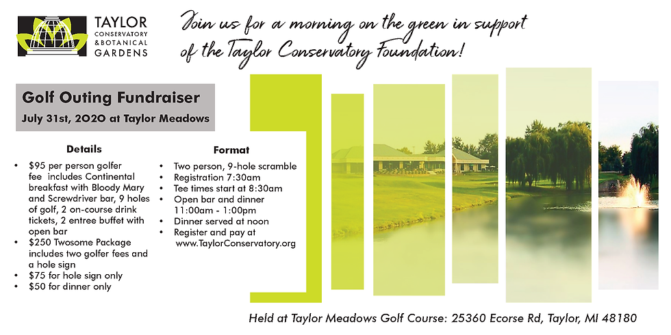 Taylor Conservatory Foundation Golf Outing
