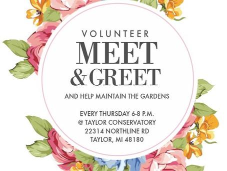 Volunteer Meet & Greet!