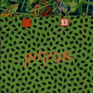 Frogs & Lice Afikomen Bag