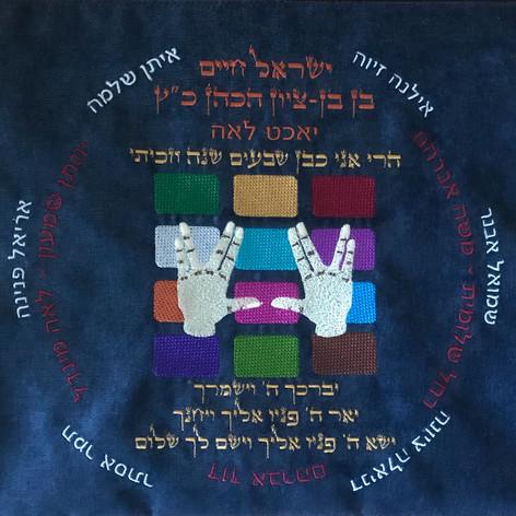 Cohen Hand Symbol & Breastplate Family Tree