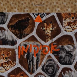 Wild Animals Afikomen Bag