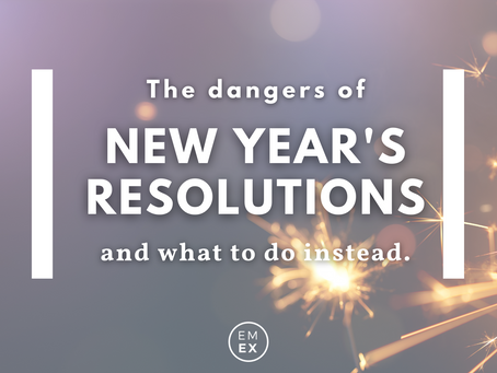 The Dangers of New Year's Resolutions