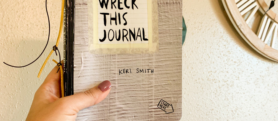 Wreck THIS Journal -review