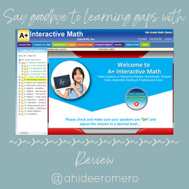 A+Interactive Math Curriculum Review