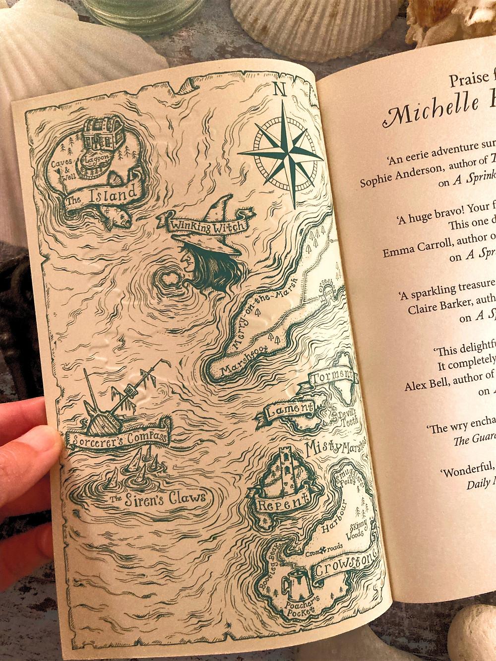 Map of The Sorrow Isles