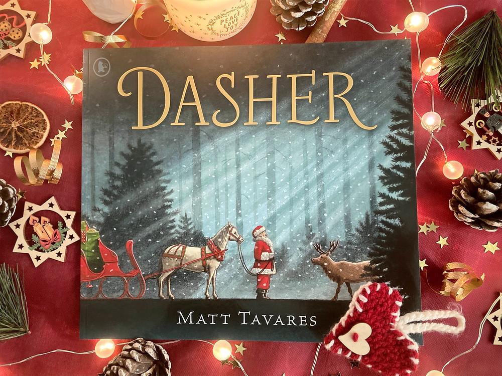 Cover of Dasher by Matt Tavares