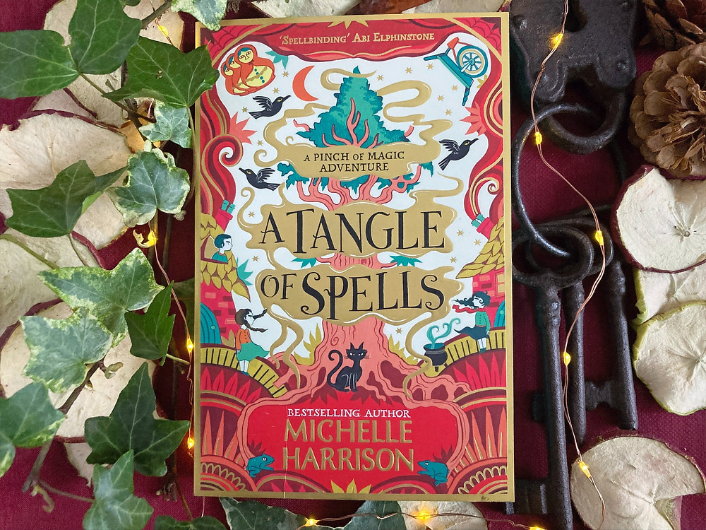 Cover of A Tangle of Spells by Michelle Harrison