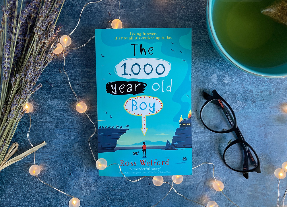Cover of The 1000-Year-Old Boy by Ross Welford