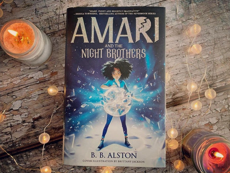 Review: Amari and the Night Brothers by B.B. Alston