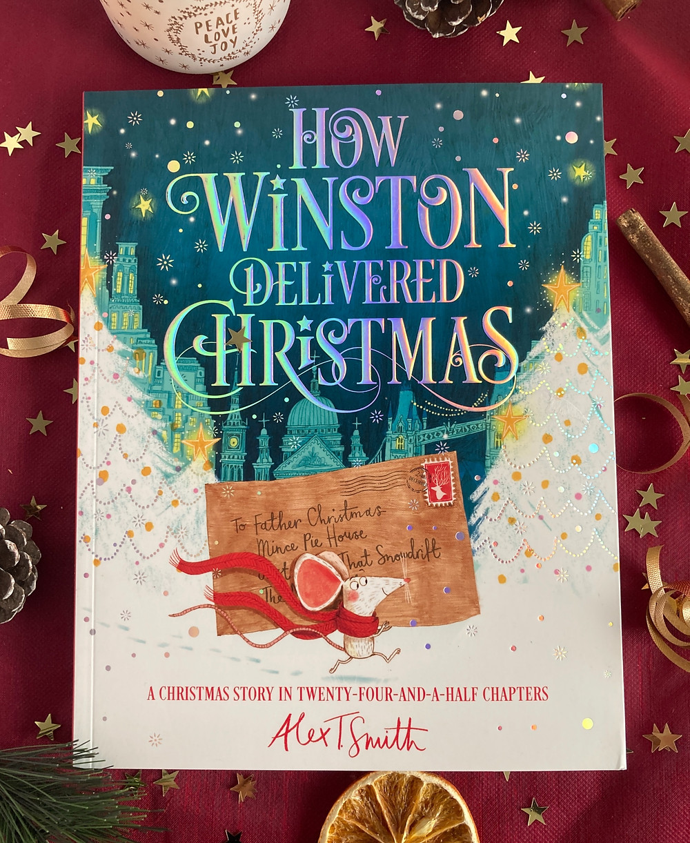 Cover of the book 'How Winston Delivered Christmas'