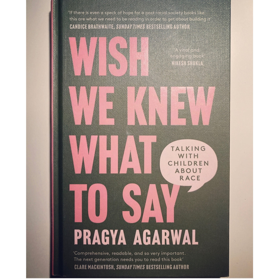 Copy of the book 'Wish We Knew What to Say'