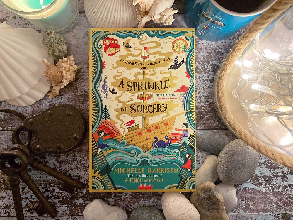 Book cover of 'A Sprinkle of Sorcery' by Michell eHarrison