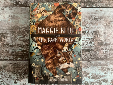 Review: Maggie Blue and the Dark World by Anna Goodall