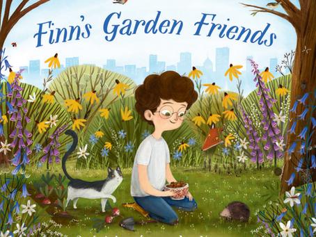 Review: Finn's Garden Friends by Rachel Lawston and Via Lisirin