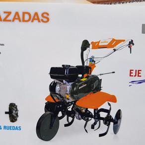 Motoazada Dormak 4 tiempos, 2+1 marchas. Oferta 499€ iva inc.