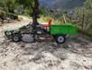 Motocultor gasolina con triturador y remolque. Precio 2.500€