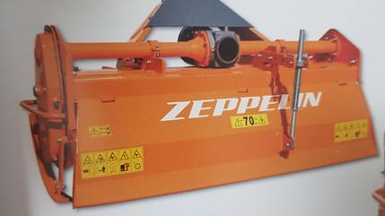 Oferta rotovator reforzado Zeppelin. 1.750€ iva inc.