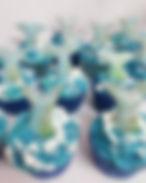 fishtail cupcakes