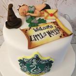 Harry Potter babyshower cake