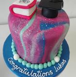 Physics graduation cake